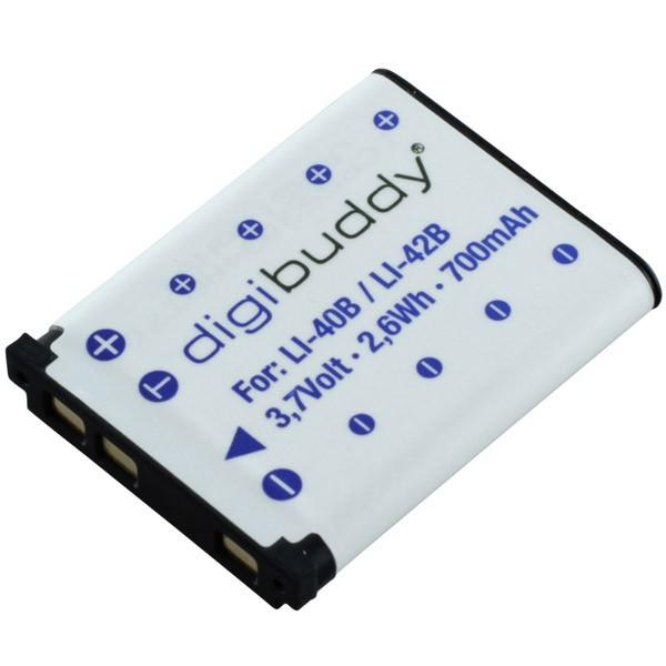 Original Digibuddy Akku F. Praktica Luxmedia 16-Z24S