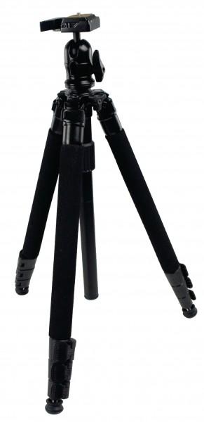 Profi Stativ Aluminium 1,51m schwarz f. Nikon Coolpix 3500
