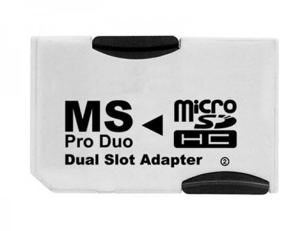 Memory Stick PRO Dual Adapter Micro SD (2x Micro Sd Card)