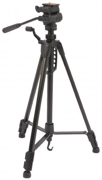 Premium Kamera Video Stativ Schwenkung & Neigung 148 cm Schwarz