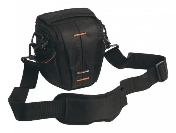 Kamertasche schwarz orange f. AgfaPhoto Precisa 1430