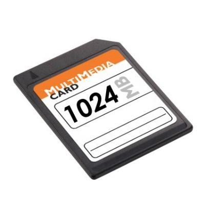 SD MMC Speicherkarte 1GB f. Digitalkamera