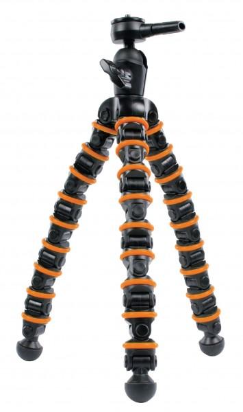 Flexibles Kamera Stativ schwarz orange f. Nikon D3400